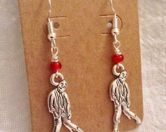 The Walking Dead Zombie Earrings