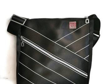 seatbelt purse, boho crossbody bag for women, best friend birthday gift for her, trending now, eco friendly gift for mom from daughter