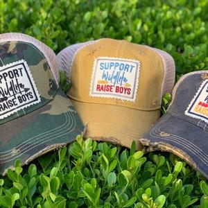 Esparosa Support Wildlife Raise Boys Hat Embroidered Snapback