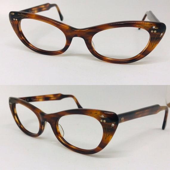 Vintage Eyeglasses Vintage Tortoise Shell Eyeglass