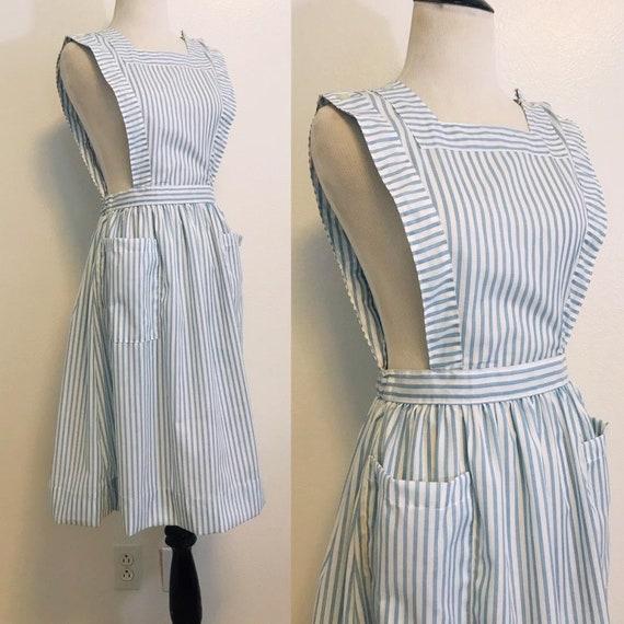 Vintage Nurse Pinafore Dress, Vintage Nurses Pinaf