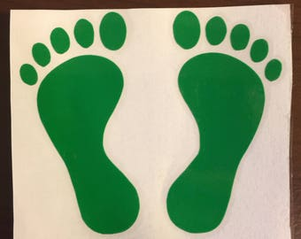 Green Feet - Rescue - Jolly Green Giant - USAF Vinyl Decal