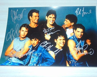 Authentic The Outsiders Signed Autographed Photograph Patrick Swayze Tom Cruise