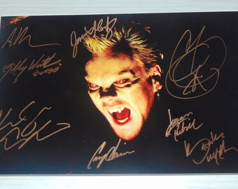 Authentic The Lost Boys Signed Autographed Photograph Kiefer Sutherland Corey Haim