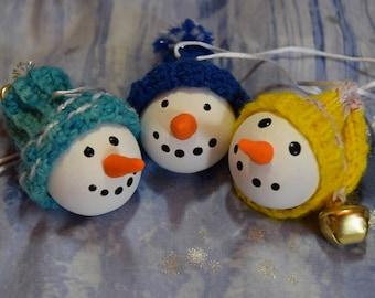 Snowfolk snowman ornaments