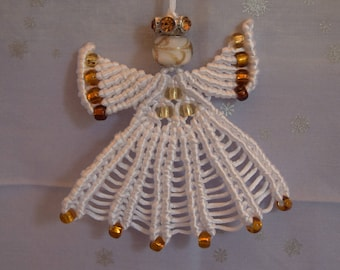 Macrame Angel Ornaments