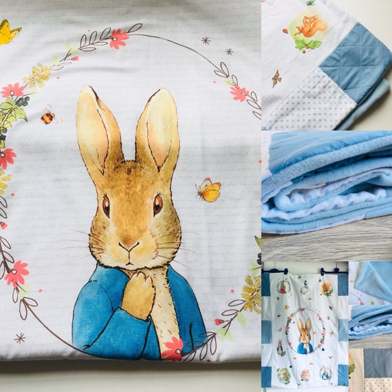 Personalised Peter Rabbit 2018 blanket