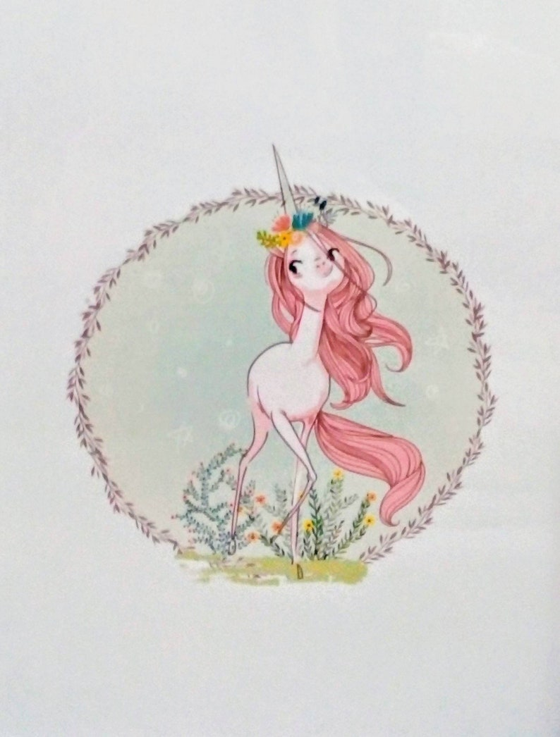 Unicorn Print Unicorn Unicorn Art Print Unicorn Wall Art Etsy