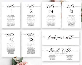 wedding seating plan etsy