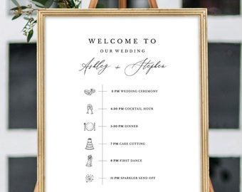 Order Of Events Etsy