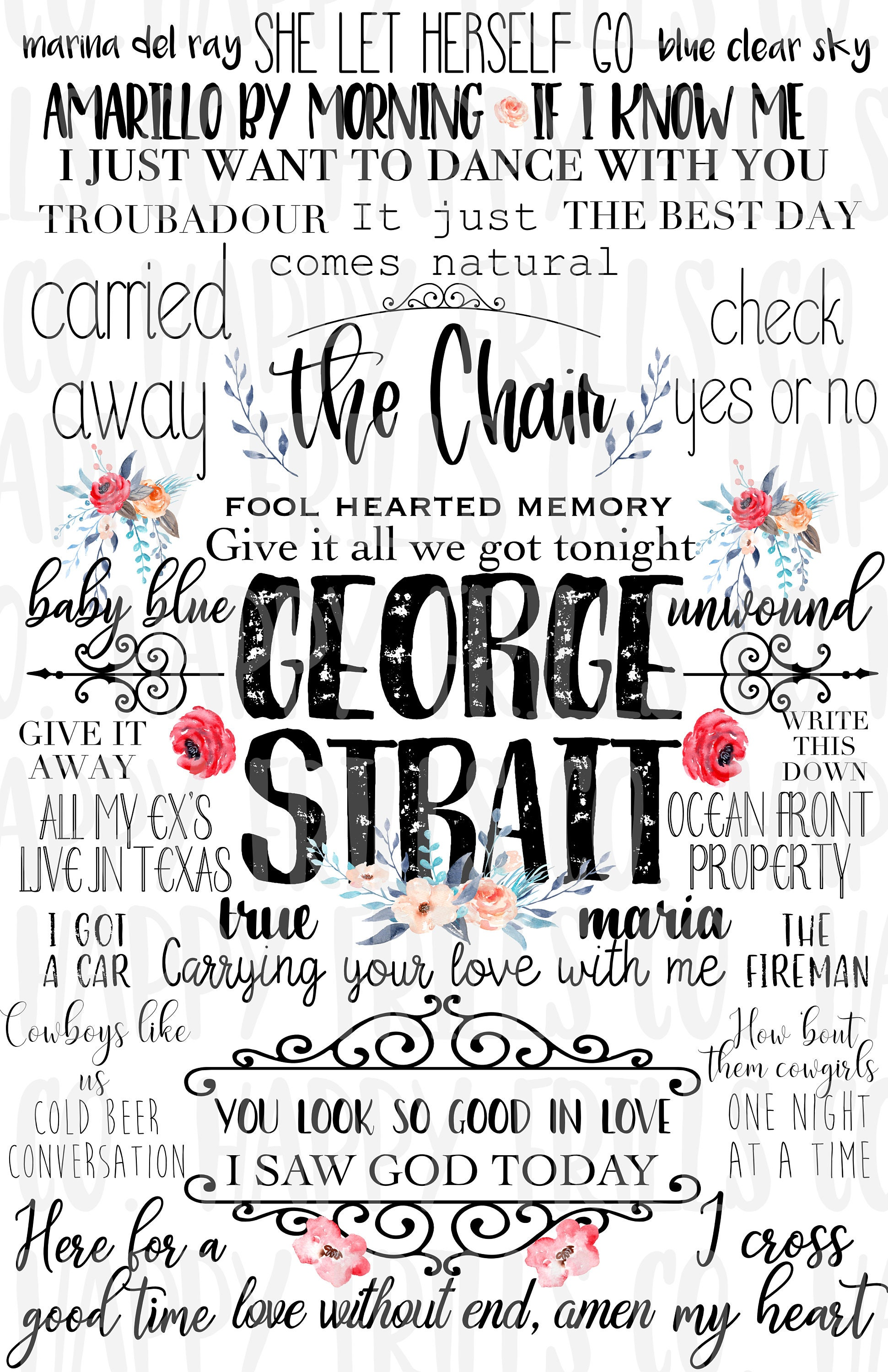 download george strait write this down