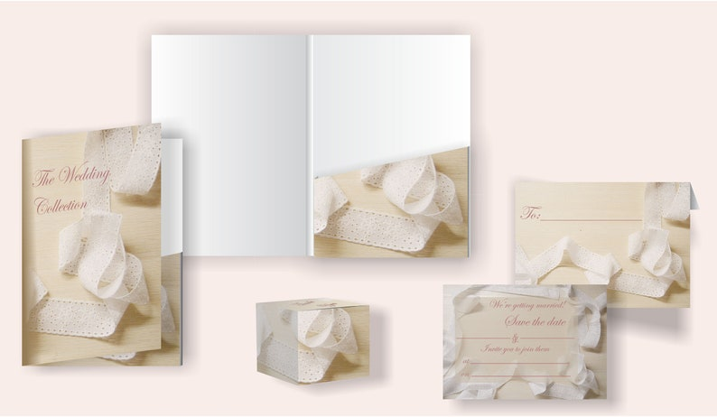 Lace Bridal Stationery