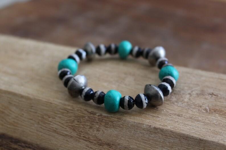 Beaded Bracelets set For Women Valentine/'s Day Gift Stacking bracelets set with gemstones Unique Bohemian bracelets