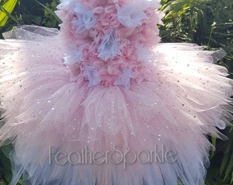 Womens Ladies Neon Organza Tutu Petticoat Fancy Dress Festival Hen Pride Party