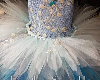 Ladies blue fairy tutu, adult blue tutu dress, ladies fairy dress, womens tutu dress, blue ladies tutu, blue fairy dress, ladies water fairy