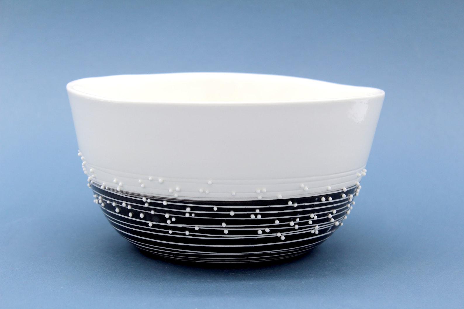 Saladier en porcelaine - Anaïs Chappron - La minute déco