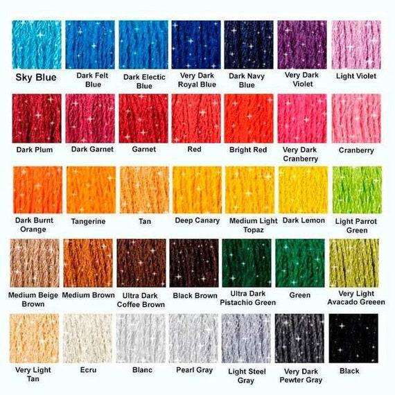 DMC Mouline Etoile Embroidery Thread 8m Skein C318 LIGHT STEEL Twinkle Effect