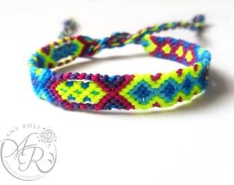 Neon Friendship Bracelet