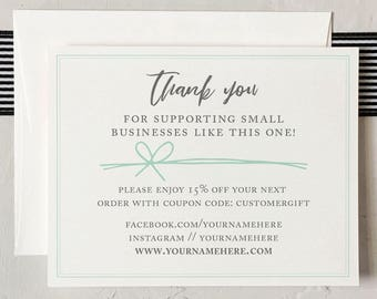 Business Thank You Cards - Custom Business Thank You [Q417-006]