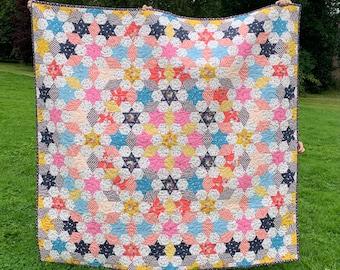 Serendipity Star Quilt Pattern - English Paper Pieced