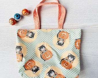 Kitty Corn Trick or Treat Tote Bag