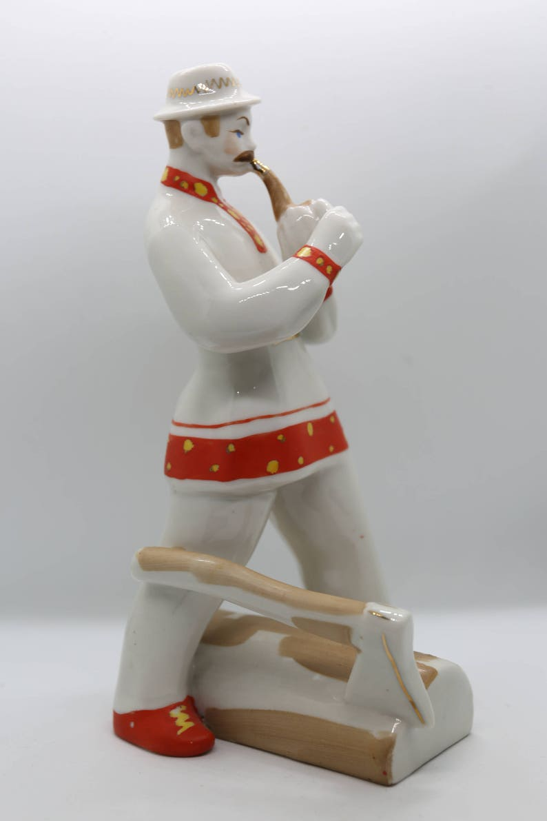 USSR Porcelain 1960/'s Woodcutter Pollonoyne Factory