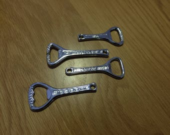 Silver Plated Bottle Openers