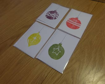 Christmas Bauble Cards