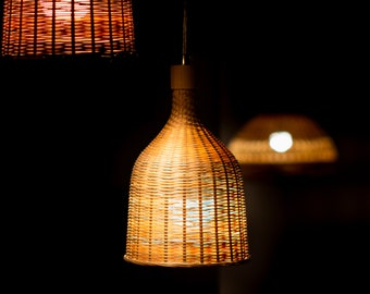 bamboo lamp farmhouse decor pendant light lampshades hanging lamp shades rustic decor ceiling lights pendant lamp ceiling lamp bamboo light - Hanging Lamp Shades
