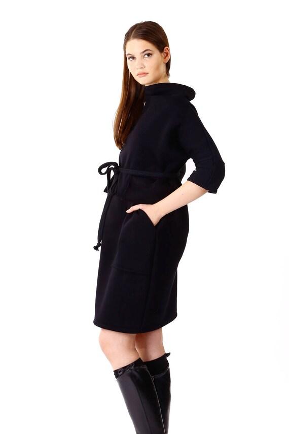 Black Loose Tunic/Oversize Black Dress/Black Maxi Dress/Black   Etsy