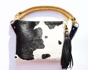 COW CROSSBODY BAG