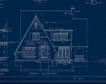 Vintage House Plans - 'The Clayton'
