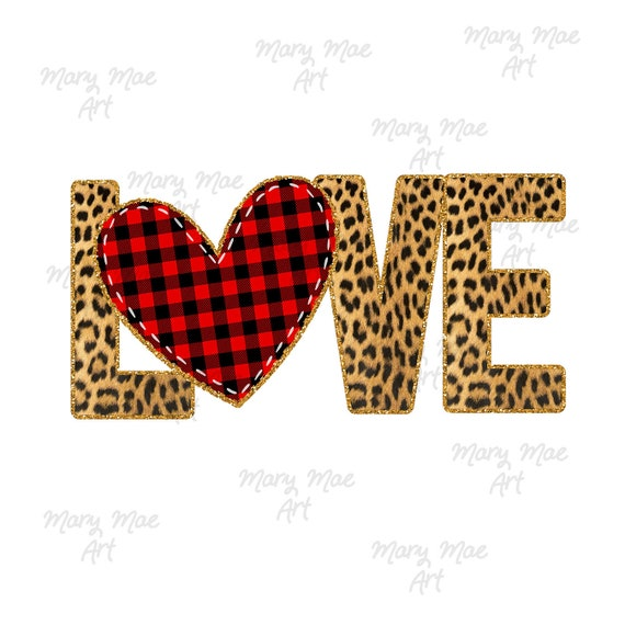 Valentine/'s Day Sublimation Transfer Cute Sublimation Transfer Plaid Love Sublimation Transfer Ready To Press