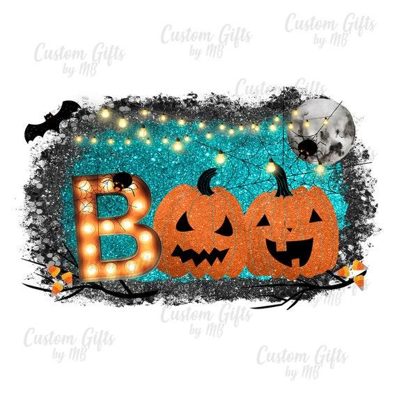 Boo iron on Halloween sublimation transfer Boo Sublimation transfer Halloween printed vinyl sublimation transfer Halloween iron on
