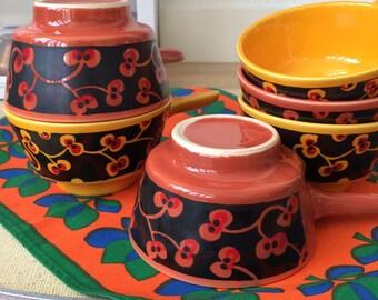 Bowls 6 pieces-vintage