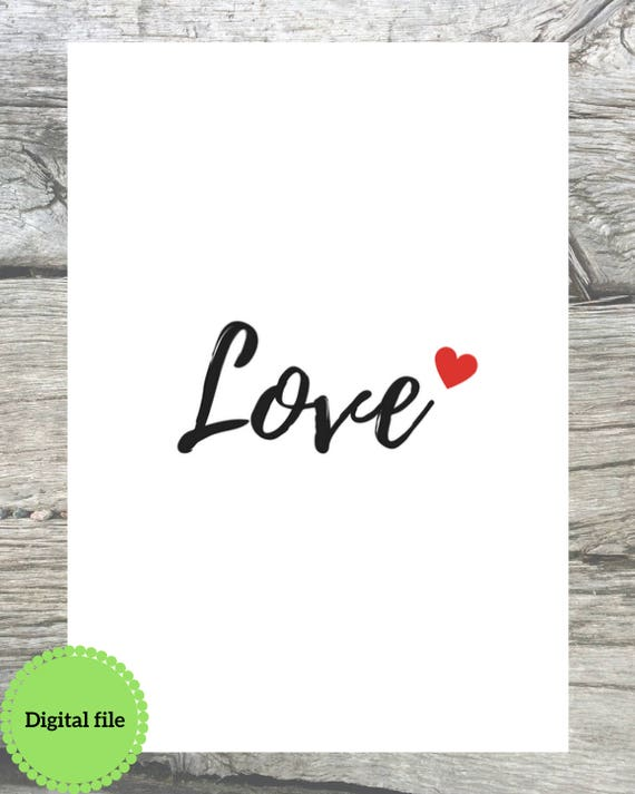Piezas de Puzzle Personalizado Word Art Print tipografía día de San Valentín Regalo Pareja