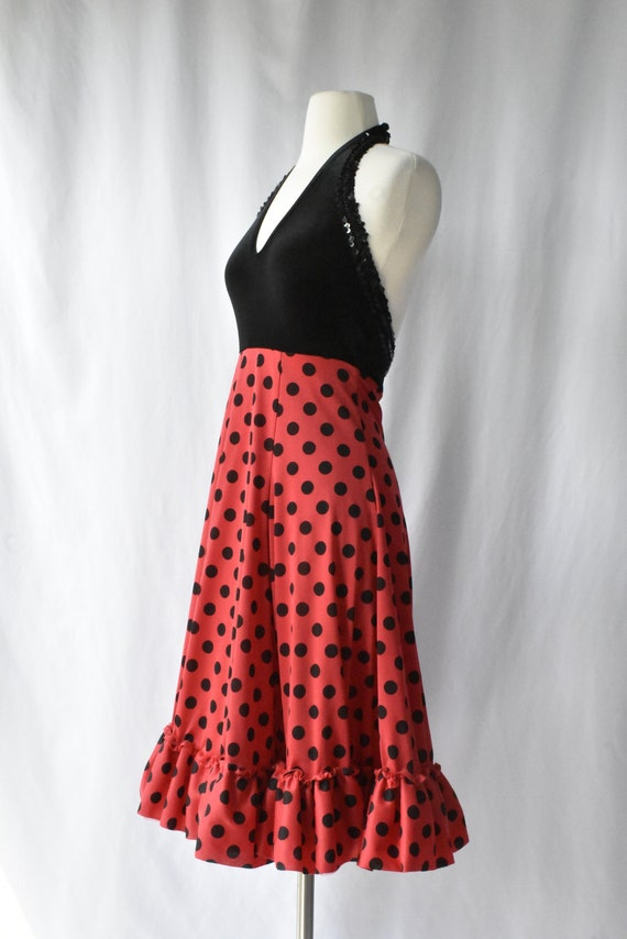 Clearance Vintage Minnie Mouse Costume Polka Dot Dress Etsy