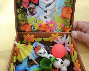 Display Box - Olaf from Frozen
