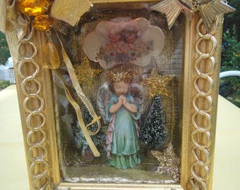 Display Box - Praying Angel