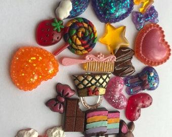21 Handmade Resin Charms