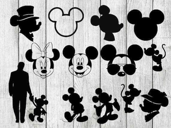 Mickey Mouse Svg Bundle Mickey Mouse Clipart Disney Svg Etsy