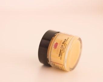 Organic Vegan Lip Balm with Argan, Jojoba and Carrot Oil - 15ml
