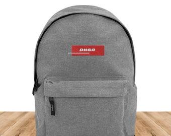 DNSR® Backpack Steel Logo RED