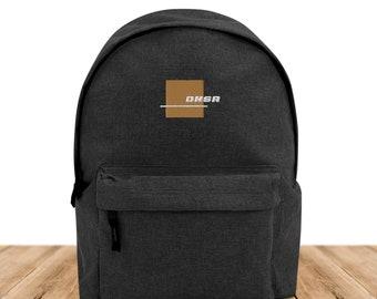 DNSR® Backpack Asphalt Logo GOLD