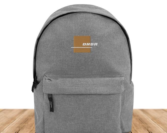 DNSR® Backpack Steel Logo GOLD