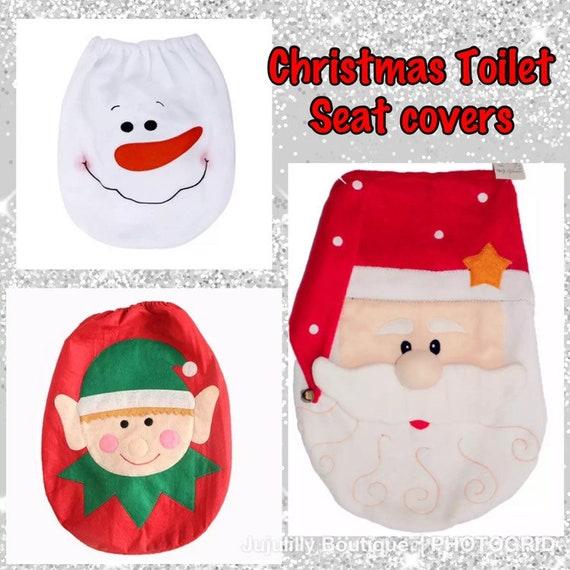 Fine Christmas Toilet Seat Cover Snowman Toilet Seat Cover Elf Toilet Seat Cover Santa Toilet Seat Cover Christmas Bathroom Decor Pabps2019 Chair Design Images Pabps2019Com