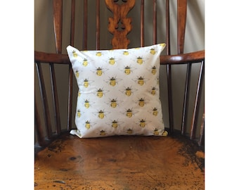 Bee Cushion cover, Handmade