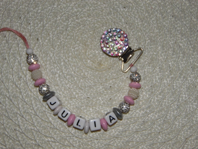Personalized Pacifier Holder Custom Pacifier Diamond Pacifier