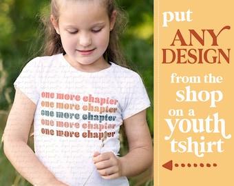 Kids Book Shirt, Children's Reading Shirt, Book Shirt Kids, Book Gifts for Kids, Book Lover Gift