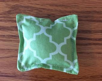 Green Catnip Toy